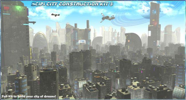 SciFi City Construction Set 3