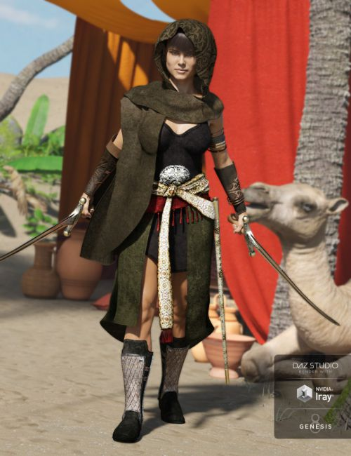 Arabian Secrets Outfit for Genesis 3 Female(s)