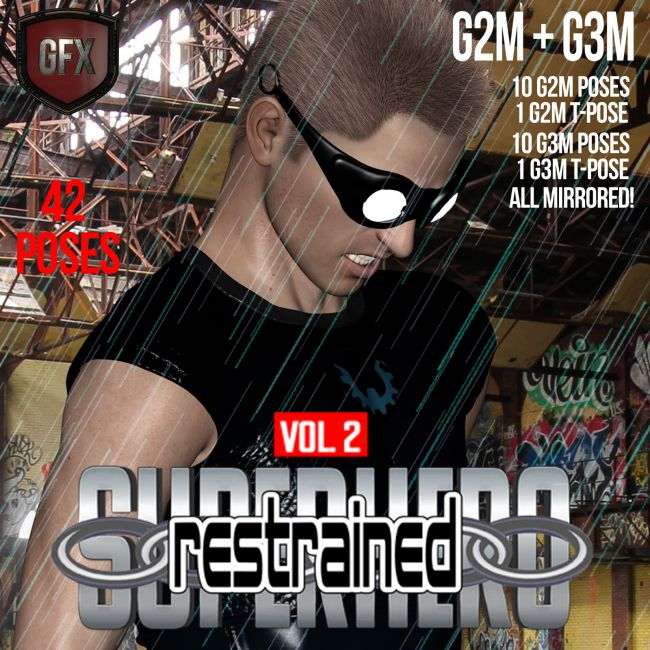 SuperHero Restrained for G2M and G3M Volume 2