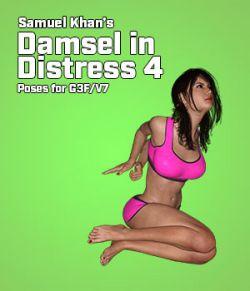 Samuel Khan's Damsel in Distress Poses 4 for G3F/V7