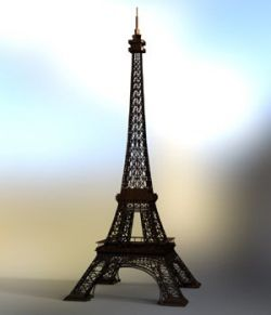 Eiffel Tower - for DAZ Studio