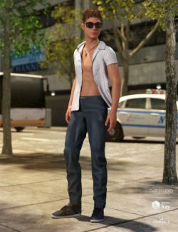 Cool Style Outfit for Genesis 8 Male(s)