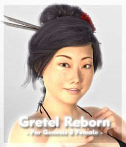 Gretel Reborn for Genesis 3 Female
