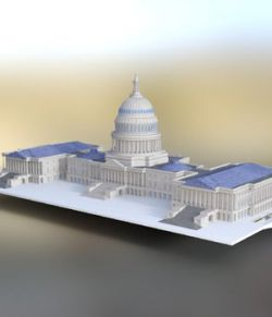 US Capitol - for DAZ Studio