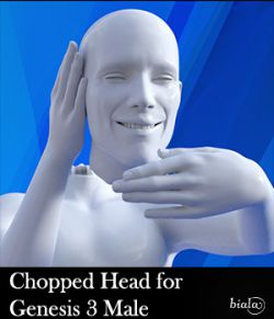 Chopped Head for Genesis 3 Male