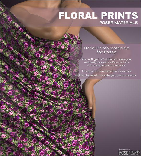 Poser - Floral Prints