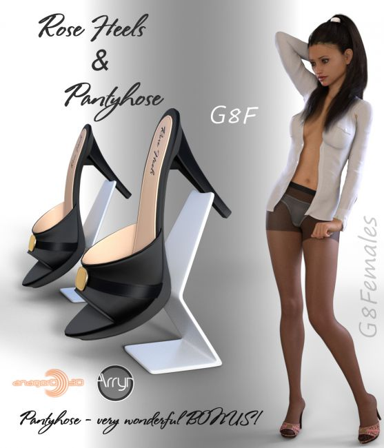 Rose Heels and Pantyhose G8F