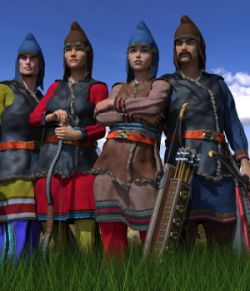 Scythian Archers for Genesis 3 and 8