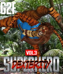 SuperHero Dexterity for G2F Volume 3