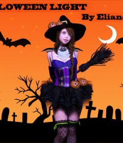 ElianeCK halloween Iray light