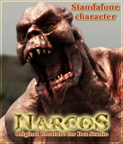 NARCOS standalone character for Daz Studio