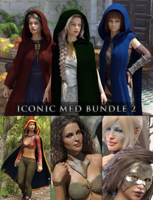 Iconic MFD Bundle 2 for Genesis 8 Female(s)