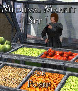 Medieval Market 1- for Poser