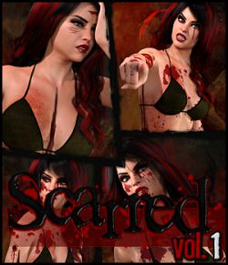 Scarred Vol.1 for Genesis 8 Female