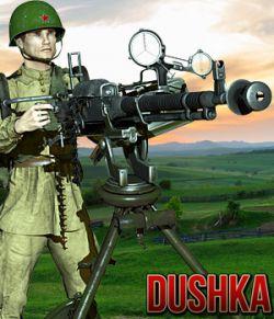 Dushka Machine Gun