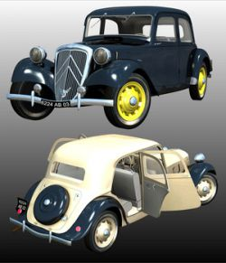 CITROEN TRACTION 1938- for POSER