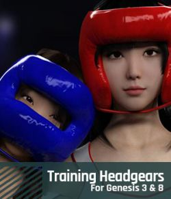 Training Headgears for Genesis 3 and Genesis 8