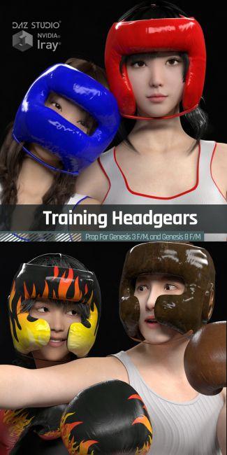 Training Headgears for Genesis 3 and Genesis 8