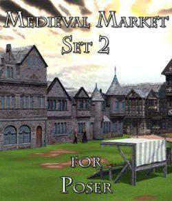 Medieval Market 2- for Poser