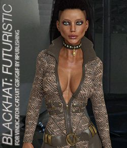 BLACKHAT:FUTURISTIC- Vindicator Catsuit for G3F G8F