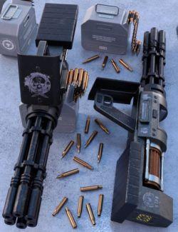 FRAGG-660 Gatling Gun