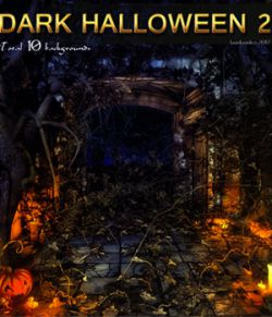 Dark Halloween 2- 2D backgrounds