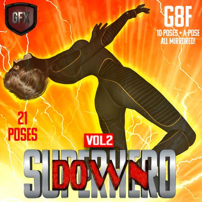 SuperHero Down for G8F Volume 2