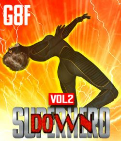 SuperHero Down for G8F Volume 2