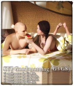 STZ Good morning G3 G8