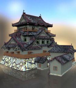 Hikone Castle- for DAZ Studio