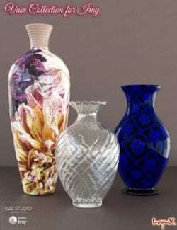 Vase Collection for Iray