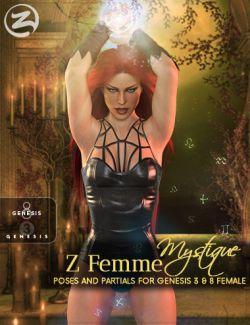 Z Femme Mystique - Poses for Genesis 3 & 8 Female