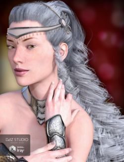 Teardrop Hair for Genesis 3 and 8 Female(s)