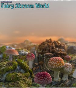 3D Scenery: Fairy Shroom World