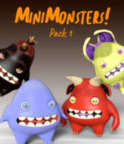 MiniMonsters - Pack 1