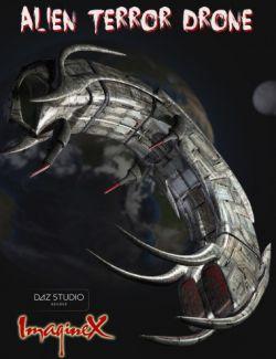 SciFi Alien Terror Drone