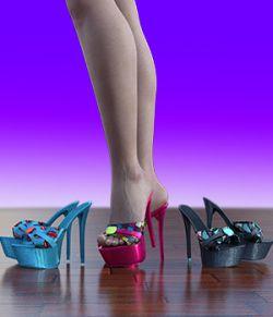 Charm Rose Heels