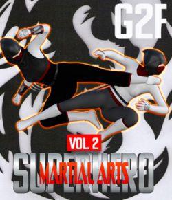 SuperHero Martial Arts for G2F Volume 2