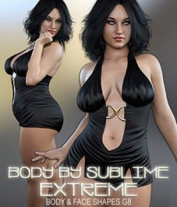 Body By Sublime ExTreme Genesis 8 Female