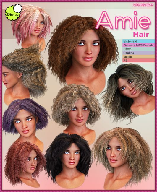 Biscuits Amie Hair