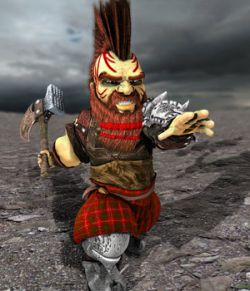 Dwarvez: BreggarAxeHammer