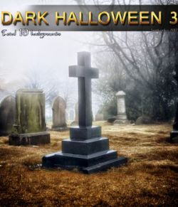 Dark Halloween 3- 2D backgrounds