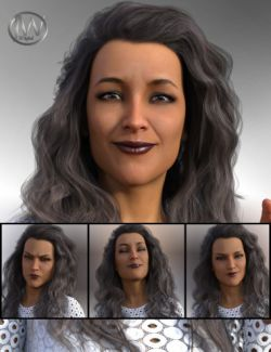 A Famous Woman - Morph Dial Expressions for Stephanie 8