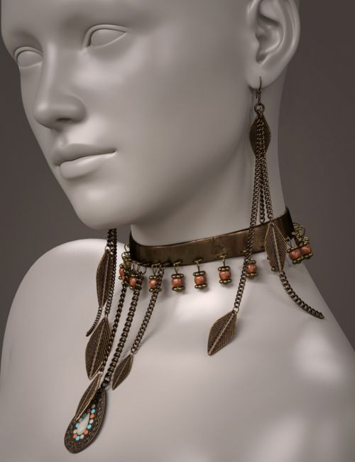 ES Pepper Jewelry for Genesis 3 and 8 Female(s)
