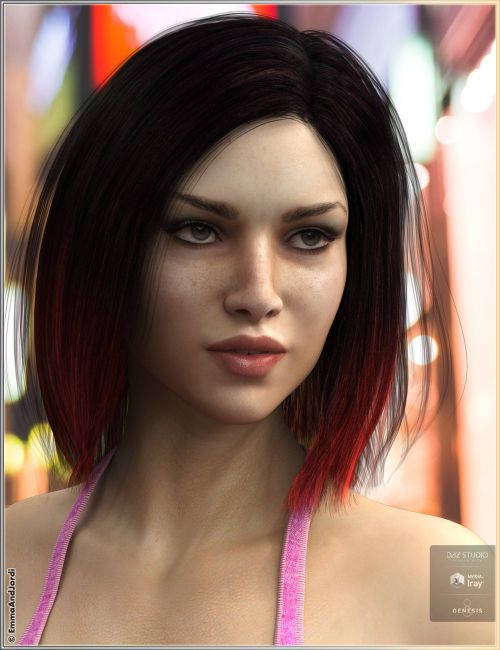 Carla Hair For Genesis 8 Female(s)