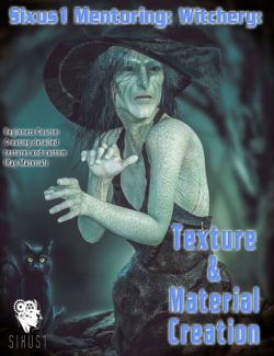 Sixus1 Mentoring- Witchery Pt4: Character Textures & Materials Creation