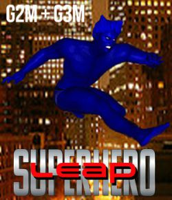 SuperHero Leap for G2M and G3M Volume 1