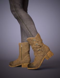 Bambino Range Boots and Jeans for Genesis 8 Female(s)