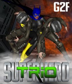 SuperHero Trio for G2F Volume 1