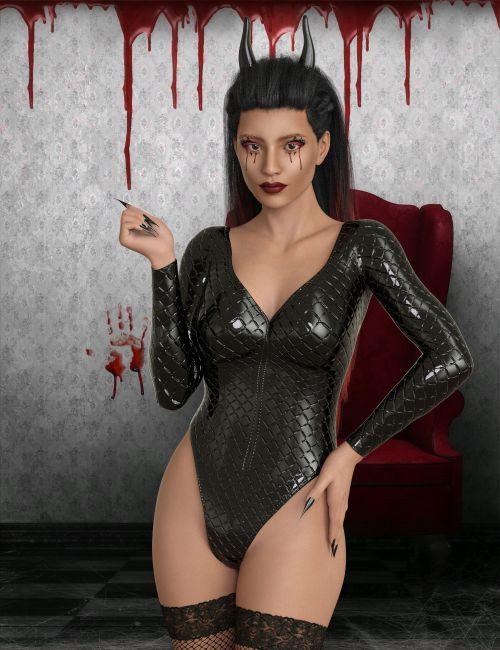 InStyle - X-Fashion BadGirl Bodysuit for G8F